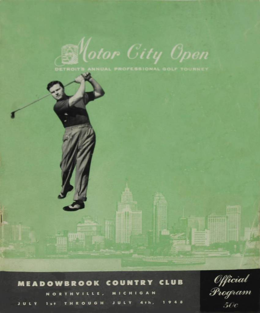 Detroit's First Pro Golf Tour Event - The Motor City Open