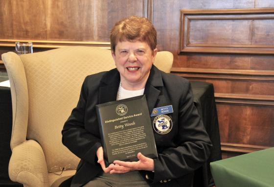 Grosse Ile Golf & Country Club's Betty Woods Receives GAM Distinguished Service Award