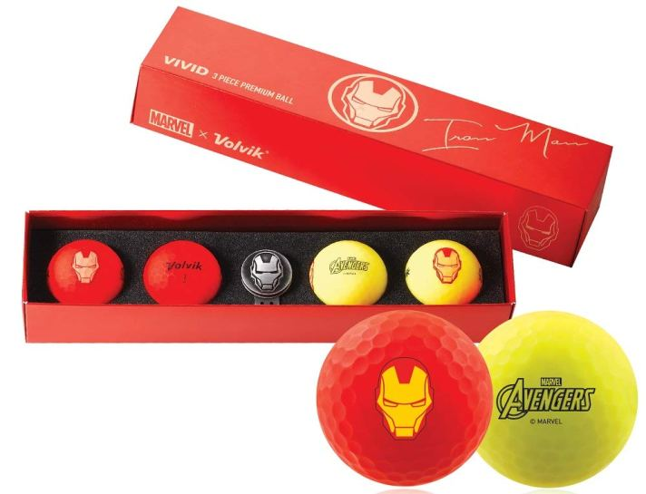 Volvik Limited Edition Avengers Golf Balls