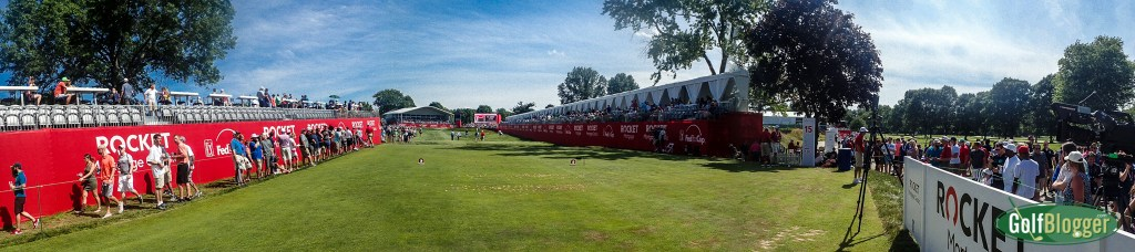 Panoramic Views Of The Rocket Mortgage Classic