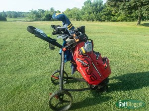 In The Mail: Big Max Blade IP Push Cart