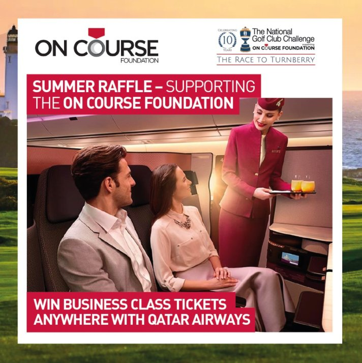 National Golf Club Challenge Summer Raffle Tickets On Sale At American Golf (UK)