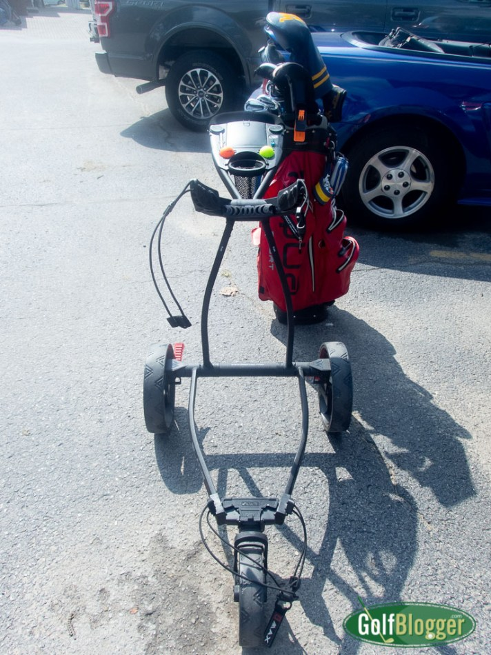 Big Max Blade IP Golf Push Cart Review