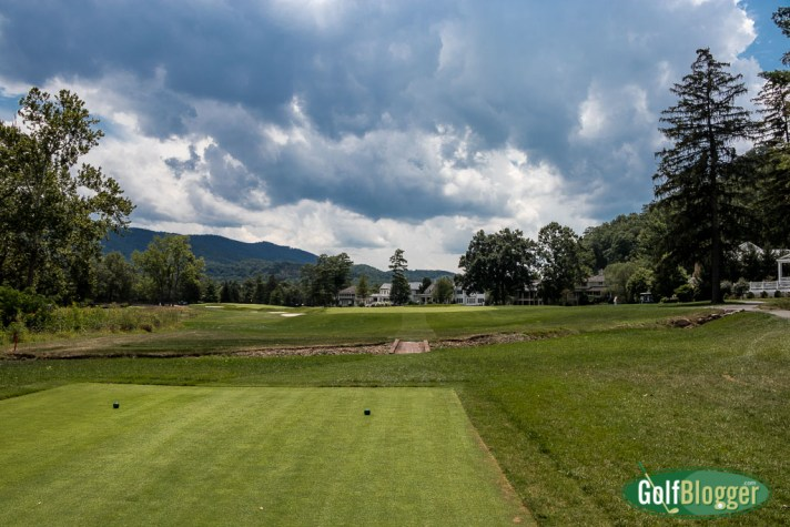 The fourteenth hole from GolfBlogger's Greenbrier Old White TPC Review