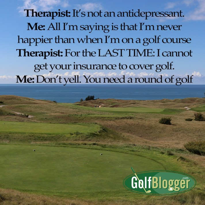 Golf Is Therapy