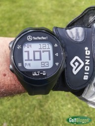 GolfBlogger's Golf Gift Guide 2019 TecTecTec! Ult-G GPS Golf Watch