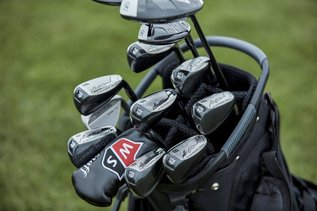 Wilson Launch Pad Irons and Woods