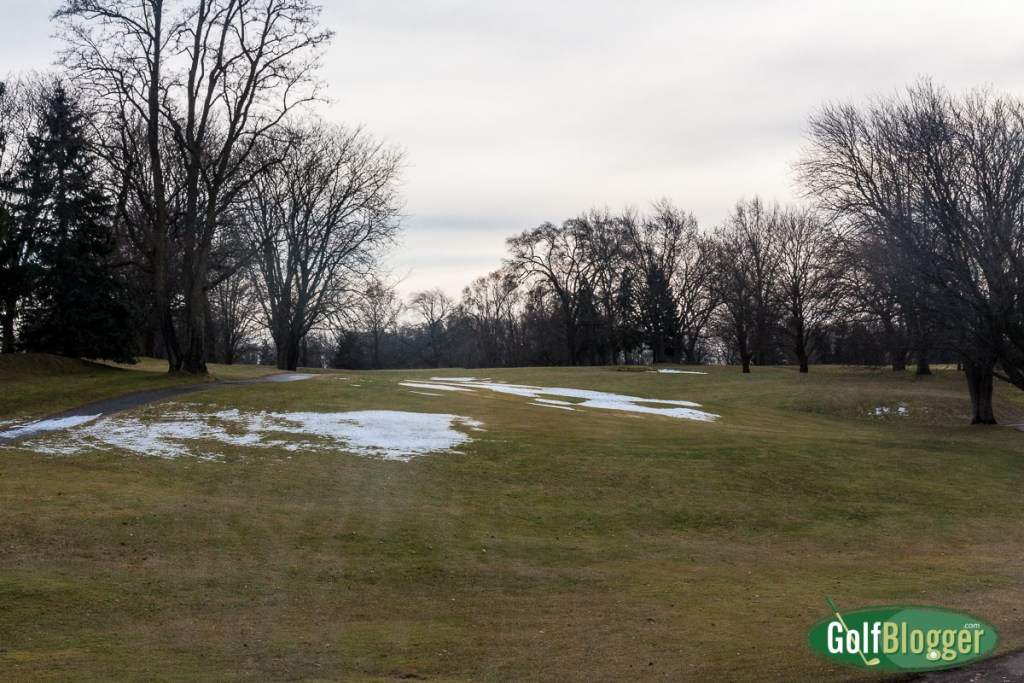 Extending The Streak to 59 - A January Golf Round In Michigan