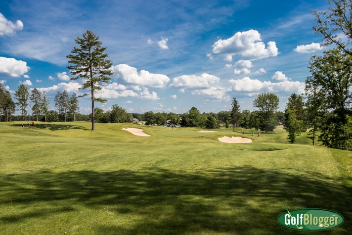 "Forest Dunes' Short Course Is Named ""Bootlegger"" The name pays homage to the property's bootlegger past This is the eighth hole."