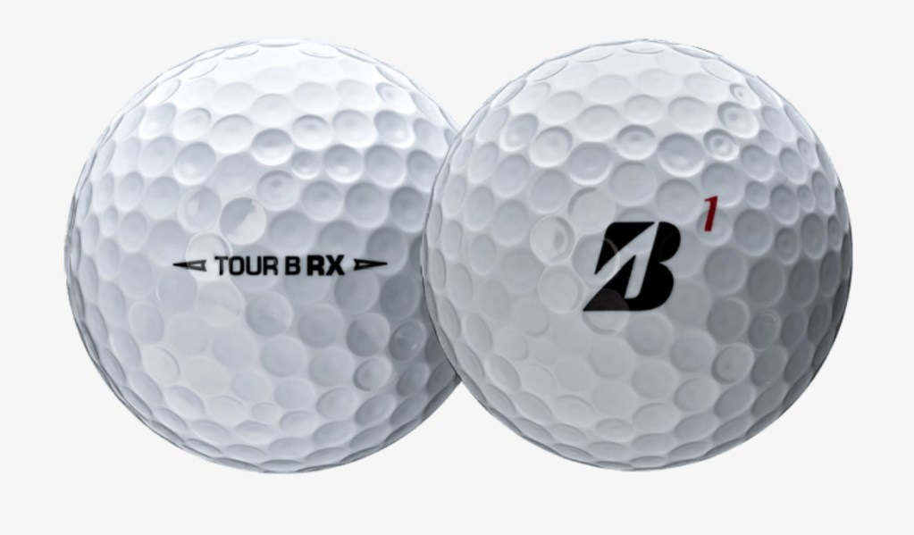 Bridgestone Tour B RX  and RXS Golf Ball Review Close up