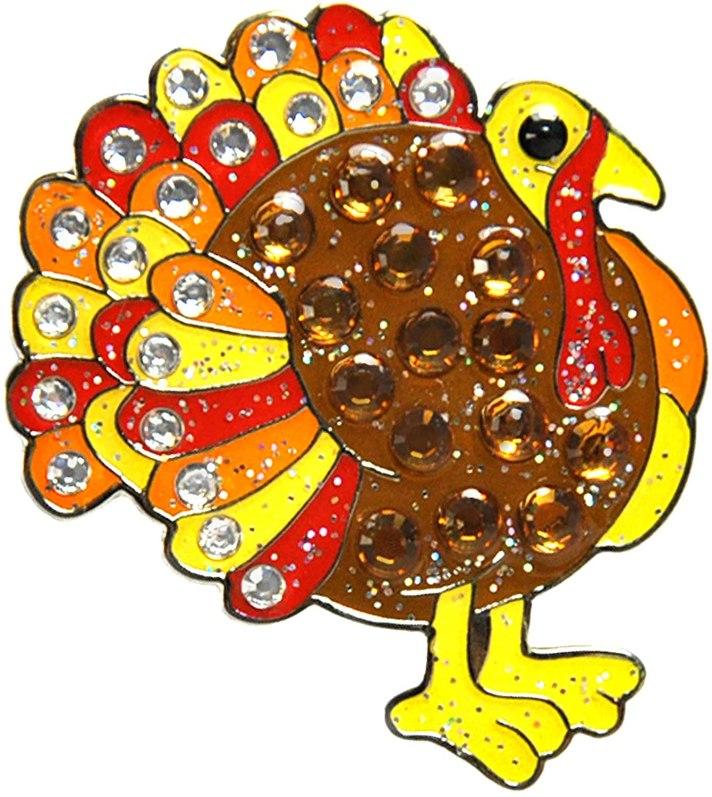 Swarovski Crystal Turkey Ball Marker