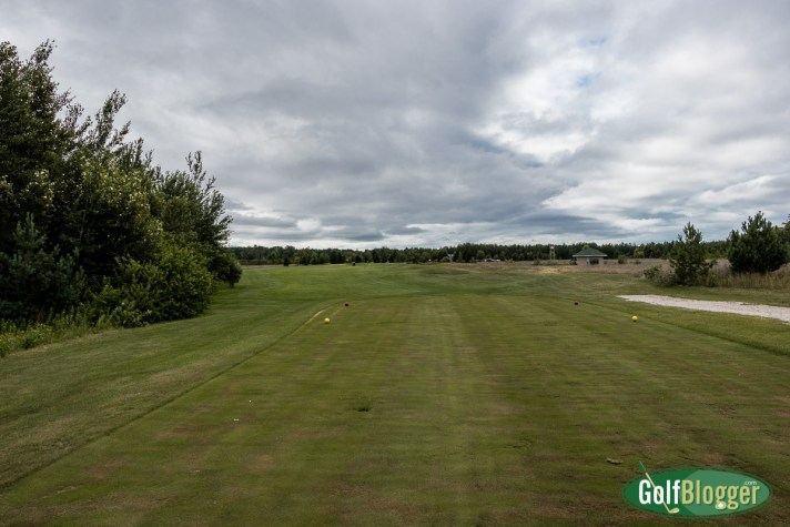 The Mackinaw Club Golf Course Review ninth hole