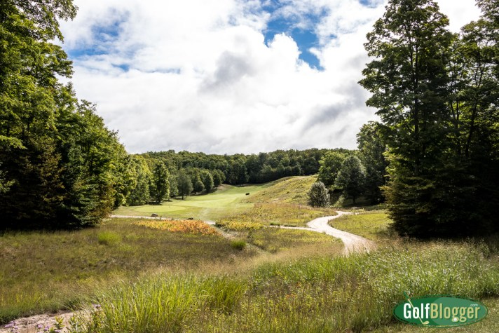 Kingsley Club Golf Course Review twelfth hole