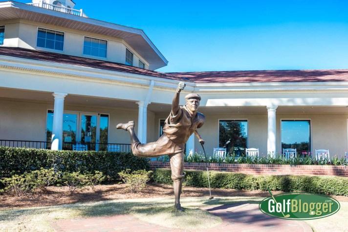 On A Pinehurst Golf Vacation Payne Stewart Statue