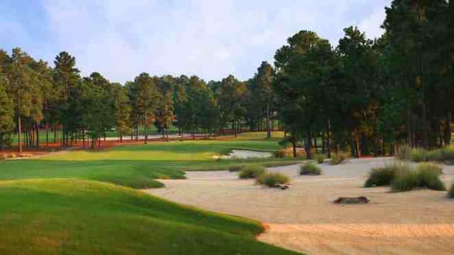 Pinehust No. 8 Review 17th hole