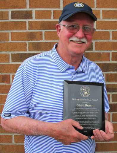Steve Braun of Charlevoix Receives GAM Honor