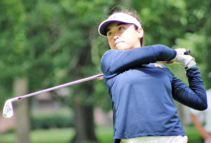 Anika Dy is co-leader at the Michigan Women's Amateur Championship