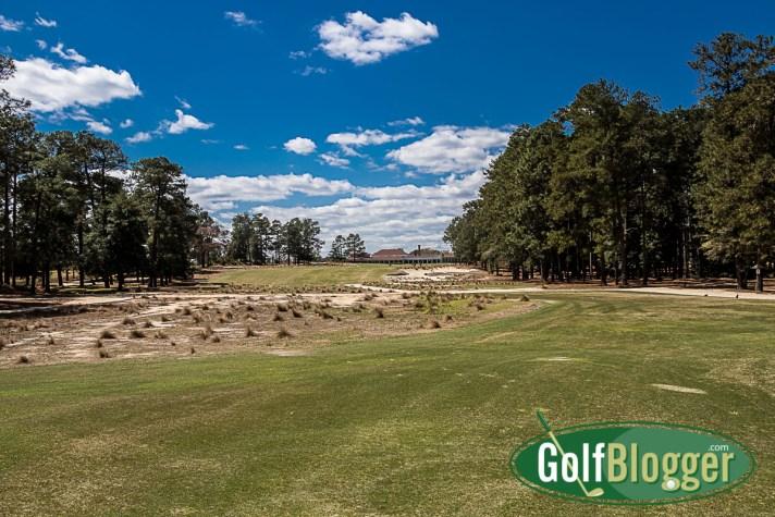 Pinehurst No. 2 Review eighteenth hole