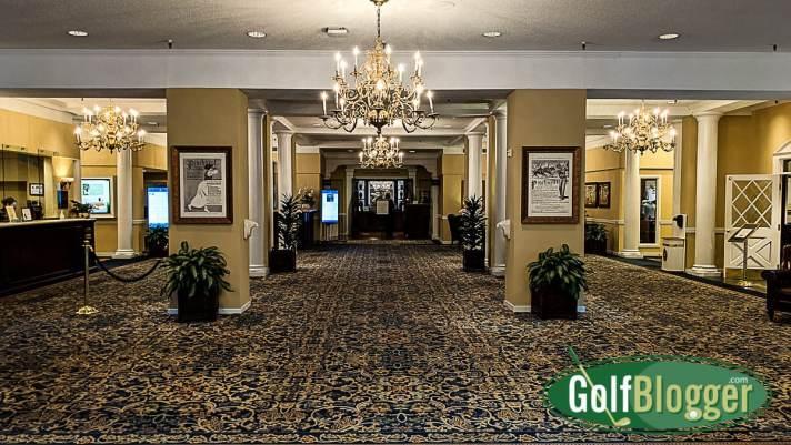 On A Pinehurst Golf Vacation The Carolina Lobby