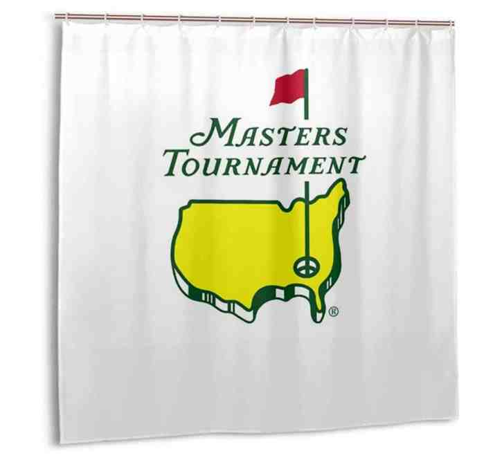 This Masters shower curtain is the Ridiculous Golf Item of the Week