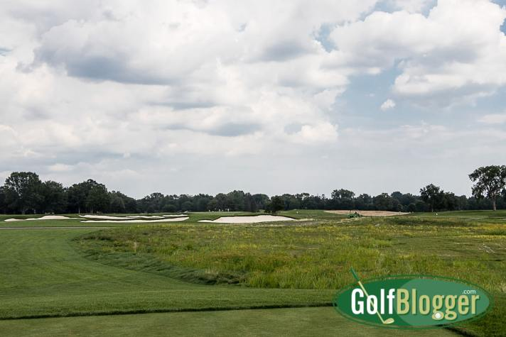 The second at Oakland Hills South is a 592 yard par 5. It measures 478 from the white tees.