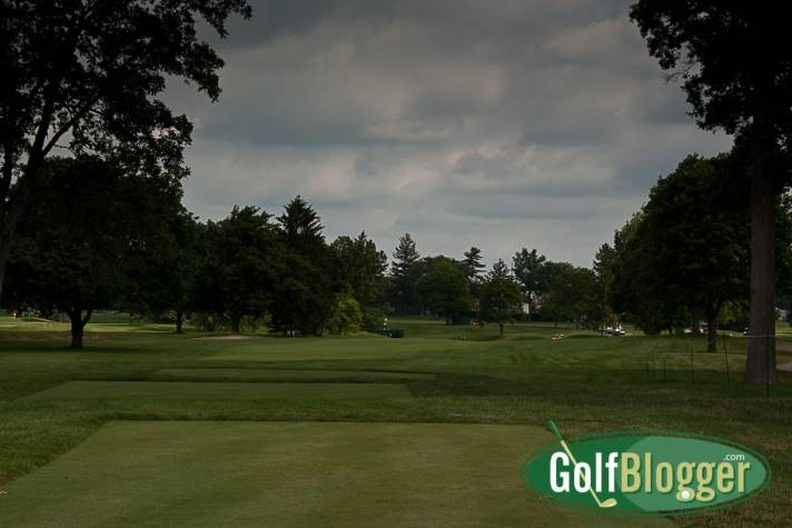 The Solheim Cup Will Showcase Classic Inverness Club A view of the fifteenth at Inverness in 2011.
