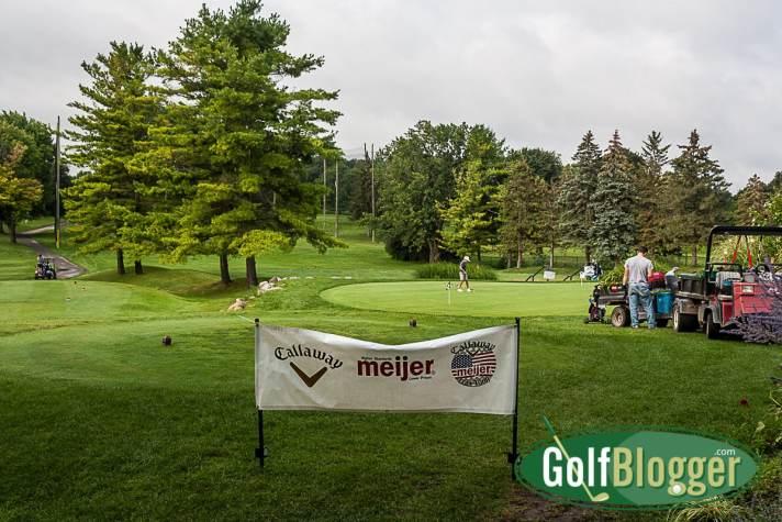 Callaway/Meijer Junior Tour practice at Washtenaw Golf Club