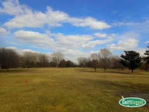 A Mid March Round Of Golf In Michigan