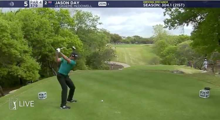 Jason Day 370 yards drive WGC Dell Match Play