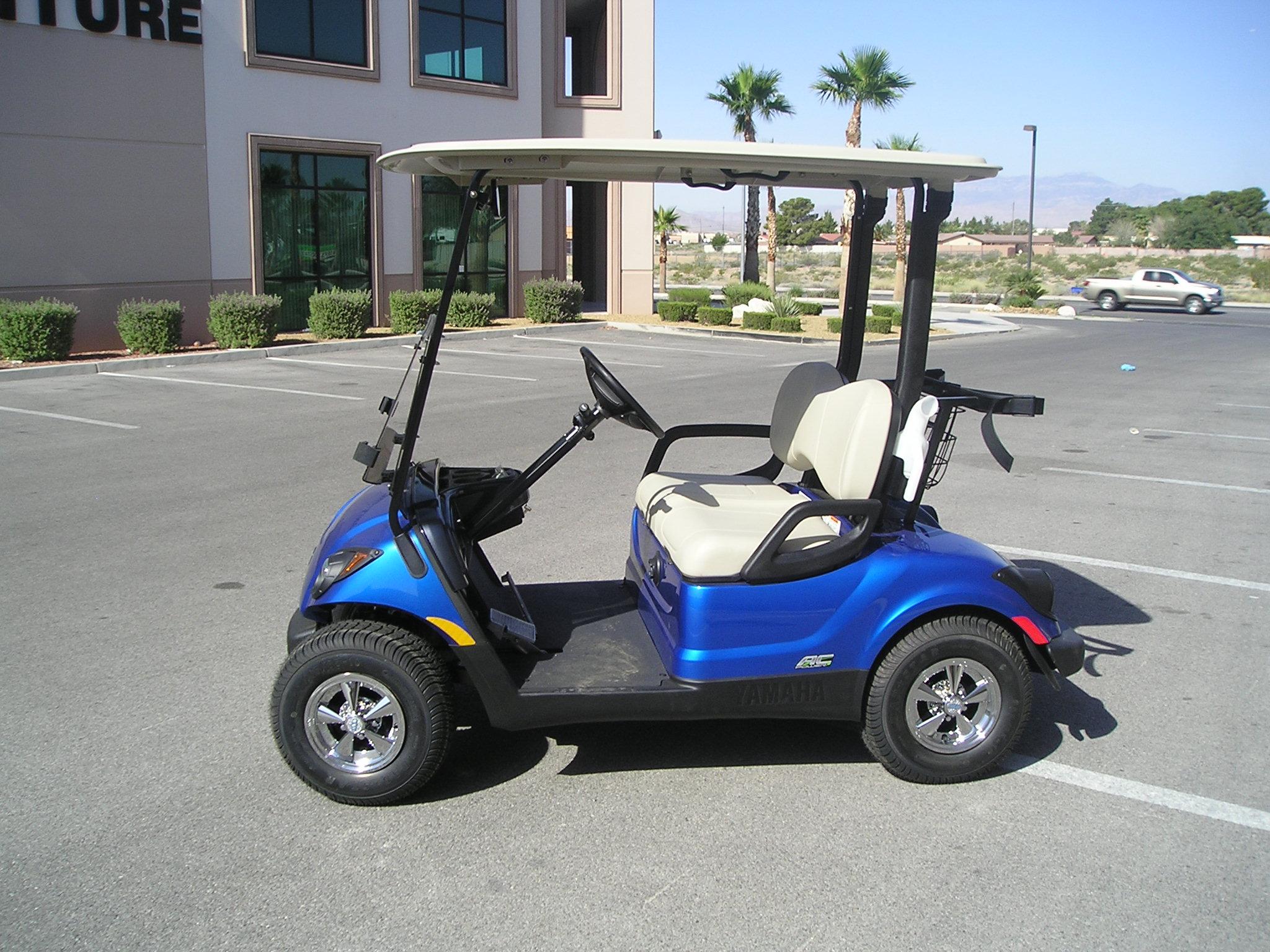 yamaha golf carts oklahoma volvo 850 wiring diagram 2016 ac drive ptv  larimar blue wheels in motion
