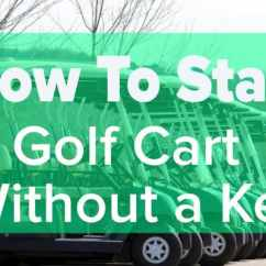 Ezgo Key Switch Wiring Diagram 240v Receptacle How To Start A Golf Cart Without Go