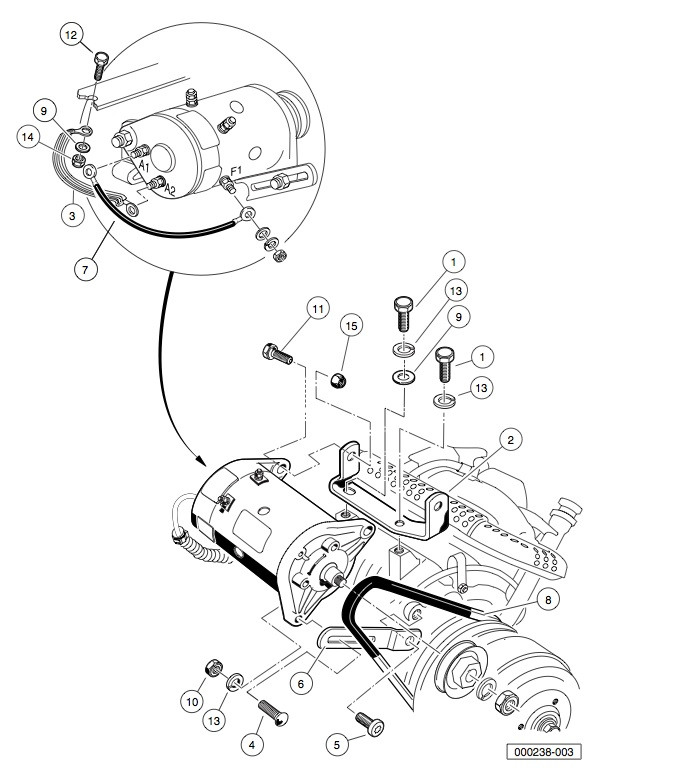 starter wiring diagram on club car