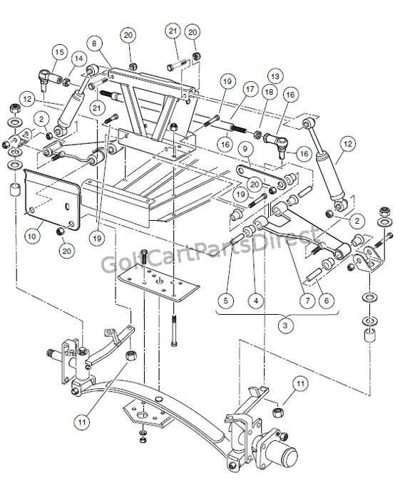 91 gas club car golf cart wiring diagram