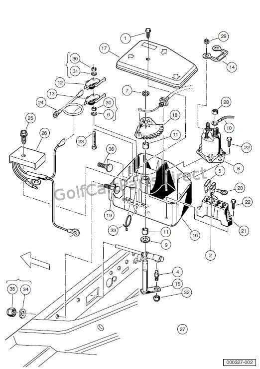 1979 club car battery wiring diagram