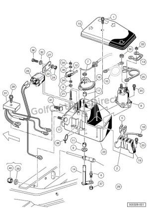 ELECTRICAL COMPONENT BOC – GASOLINE CARRYALL 2 PLUS  Club Car parts & accessories