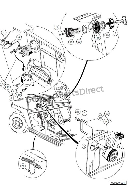 [DIAGRAM] Club Car Carryall Parts Diagram FULL Version HD