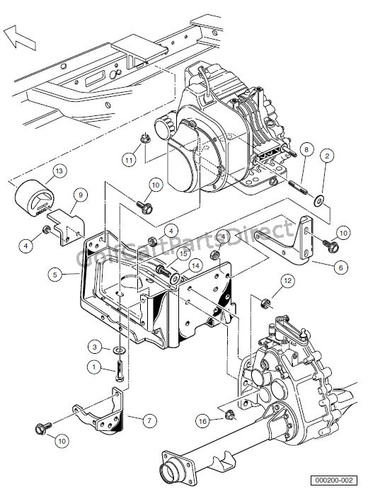 ENGINE - ENGINE MOUNTING