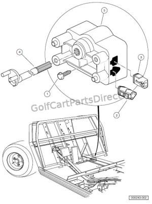 MOTOR CONTROLLER OUTPUT REGULATOR (MCOR)  Club Car parts & accessories