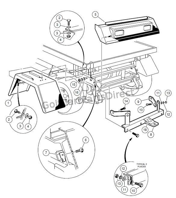 [DIAGRAM] Club Car Carry All Parts Diagram FULL Version HD