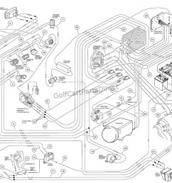 wiring carryall vi powerdrive electric vehicle golfcartpartsdirect wiring diagram 2007 carryall 6 [ 1187 x 867 Pixel ]
