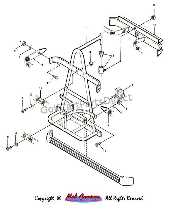Melex Electric Golf Cart Wiring Diagram 1984 1991 Club Car Ds Electric Golfcartpartsdirect