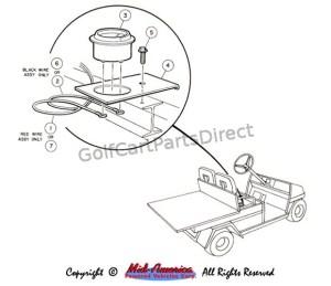 Hour Meter Kit  GolfCartPartsDirect