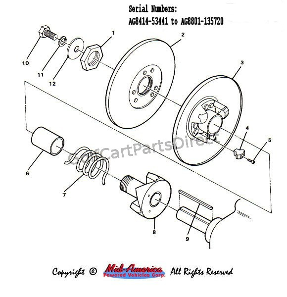 Ez Go Starter Wiring Diagram 1984 1991 Club Car Ds Gas Golfcartpartsdirect