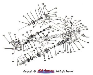 Transmission Assembly  Club Car parts & accessories