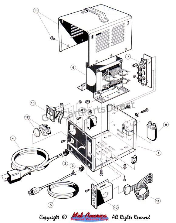 [DIAGRAM] Ezgo 36v Golf Cart Battery Diagram FULL Version