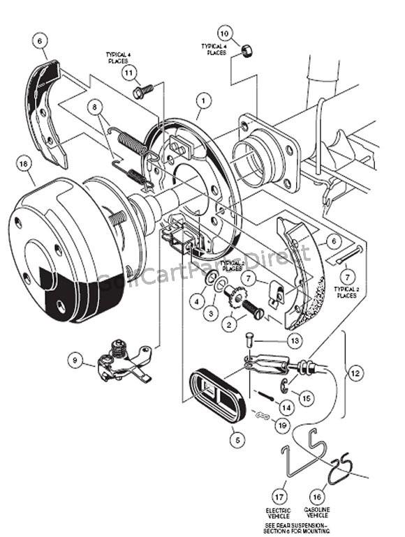 club car precedent horn wiring diagram