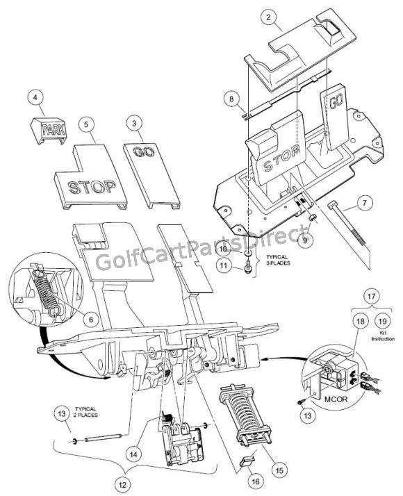 2007 club car precedent light wiring diagram