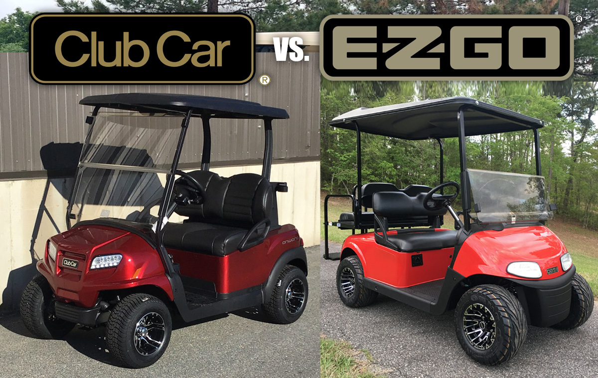 Club Car Vs Ezgo Golf Cart Reviews Golfcarts Org