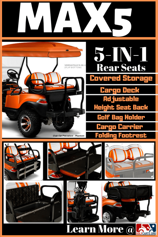 Max5 Rear Seat Infographic