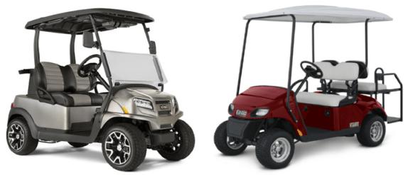 Golf Carts Vs. LSV's